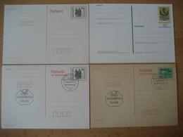 Deutschland- 2 Postkarten Ungebraucht Und 2 Mit Antwortkarte - [7] West-Duitsland
