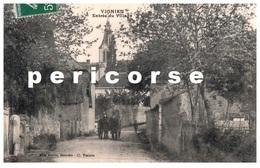 38  Vignieu  Entrée Du Village - Francia