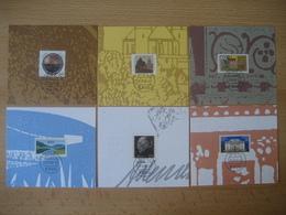 Deutschland- 6 Briefmarken Mit Tagesstempel Bonn 25.10.92 - [7] West-Duitsland