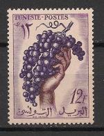 Tunisie - 1956 - N°Yv. 428 - Vigne - Neuf Luxe ** / MNH / Postfrisch - Frutta