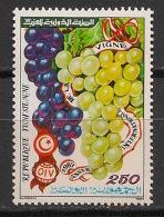 Tunisie - 1987 - N°Yv. 1090 - Vigne / Grapes - Neuf Luxe ** / MNH / Postfrisch - Frutta