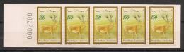 Tunisie - 1990 - N°Yv. C1156 - Carnet Cerf - Neuf Luxe ** / MNH / Postfrisch - Tunisie (1956-...)