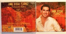 JUAN DIEGO FLOREZ. Sentimiento Latino. 15 Titres. 1 Cd . Decca. 2006. - Opera