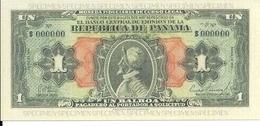 PANAMA 1 BALBOA 1941 UNC Reproductions - Panama