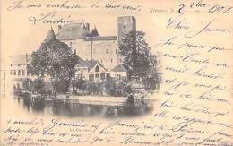 INDUSTRIE Usine - 77 NEMOURS : Construction Machines Agricoles L. DARLEY Face Au Chateau - CPA 1901 - Entreprise Fabrik - Industrie