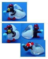 Mini Glass Penguin - Asian Art
