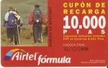 ACR-048/1 TARJETA CAMINO DE SANTIAGO DE 10000 PTAS PEREGRINOS  CON S.A. - Airtel