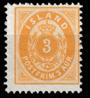 Iceland 1901 Mi. 22 Ongestempelt Hinged. - 1873-1918 Dépendance Danoise