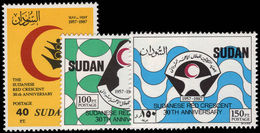 Sudan 1988 Red Crescent Unmounted Mint. - Sudan (1954-...)