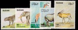 Sudan 1990 Mammals Unmounted Mint. - Sudan (1954-...)