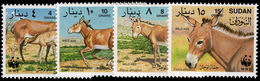 Sudan 1994 Wild Ass Unmounted Mint. - Sudan (1954-...)