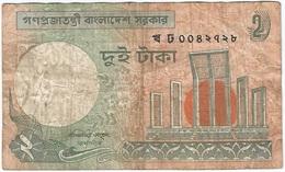 Bangladesh 2 Taka 1993 Pick 6C.a.4 Ref 1440-2 - Bangladesh