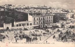 TANGER - La Place Du Grand Sokko Et La Ville Arabe - Tanger