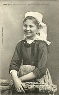 QUIMPERLE  -- June Fille, étude Des Coiffes                   __  Villard 1092 - Quimperlé
