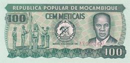 Mozambique - 100 Meticais 16 Jun 1980 - UNC - Mozambique