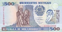 Mozambique - 500 Meticais 16 Jun 1991 - UNC - Mozambique