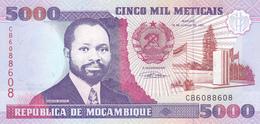 Mozambique - 5000 Meticais 16 Jun 1991 - UNC - Mozambique