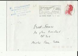 Ferté-Macé  61  Enveloppe Flamme Timbrée  De  P  FOURMOND  Correspondant De Presse - La Ferte Mace