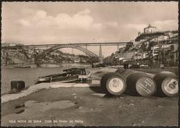 Postal Portugal - Vila Nova De Gaia - Cais Do Vinho Do Porto - Pipas Vinho - Serra Do Pilar - Rio Douro - CPA - Postcard - Porto