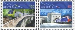 Ref. 195571 * MNH * - SWITZERLAND. 2006. ANIVERSARIO DE FERROCARRILES - Switzerland