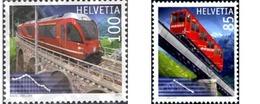 Ref. 253076 * MNH * - SWITZERLAND. 2010. TRAINS . TRENES - Unused Stamps