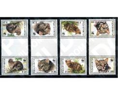 Ref. 191794 * MNH * - SURINAME. 1995. JAGUARUNDI, LITTLE SPOTTED CAT . YAGUARUNDI, GATO TIGRE - Suriname
