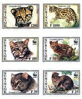 Ref. 202120 * MNH * - SURINAME. 1995. JAGUARUNDI, LITTLE SPOTTED CAT . YAGUARUNDI, GATO TIGRE - Suriname