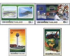 Ref. 90778 * MNH * - THAILAND. 1995. WORLDTECH 95 - Cars