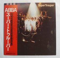 "Vinyl LP : ABBA "" Super Trouper "" ( DSP-8004 Disco Mate/Polar Music JPN 1980 ) - Disco & Pop"