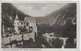 AK 0018  Schloss Fernstein Mit Ruine Sigmundskron ( Fernpass ) Um 1920-30 - Imst