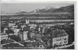 AK 0018  Villach Vom Stadtpfarrturm Gegen Parkhotel Und Mittagskogel - Verlag Frank Um 1939 - Villach