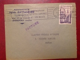 Annonay Battandier - Marcofilie (Brieven)