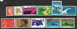 Australia  1970  11diff   MLH/some MH   2016 Scott Value $6.20 - 1966-79 Elizabeth II