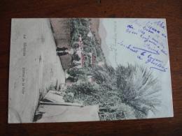 Menton Hopital Auxiliaire 205   Cachet Franchise Postale Militaire 14.18 - Poststempel (Briefe)