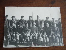 Carte Photo Photographie Prisonnier De Guerre 39.45 - War 1939-45