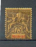NosBe 39 - YT 38 * - Dent Coin Gauche Bas Manquante - CC - Nossi-Bé (1889-1901)