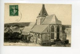 Cp - Criel Plage - L Eglise - L Abside - Criel Sur Mer