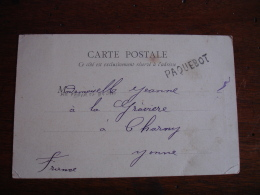Lettre Paquebot D Angleterre A Tonnerre Yonne - Postmark Collection (Covers)
