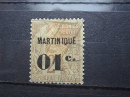 VEND BEAU TIMBRE DE MARTINIQUE N° 7 , (X) !!! - Martinique (1886-1947)