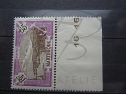 VEND BEAU TIMBRE DE MARTINIQUE N° 122 + BDF , XX !!! - Martinique (1886-1947)