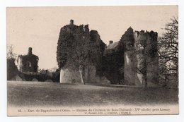 Cpa N° 62 Environs De BAGNOLES DE L ' ORNE Ruines Du Château De Bois Thibault Près Lassay - Bagnoles De L'Orne