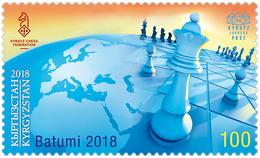 Kyrgyzstan. 2018  43rd Chess Olympiad. - Schaken
