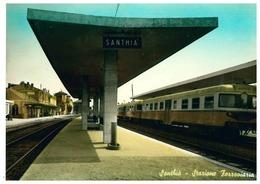 SANTHIA' STAZIONE FERROVIARIA - Vercelli