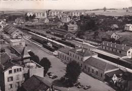 MONTBELIARD - Vue Aérienne Sur La Gare - Montbéliard