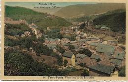 TROIS-PONTS : Panorama Vu Du Belvédère - Trois-Ponts
