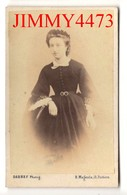 Portrait D'une Jeune Fillle à Identifier - CARTE CDV Tirage Alluminé 19ème - Taille 63 X 99 - Photo DARNAY Poitiers - Cartes Postales