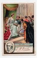 CHROMO CPA Chicorée Bonzel Haubourdin Disraeli Ecrivain Homme Politique Anglais Couronnement De L'Impératrice Des Indes - Trade Cards
