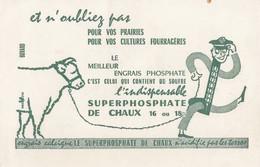 BUVARD SUPERPHOSPHATE L'INDISPENSABLE / 6000 - Buvards, Protège-cahiers Illustrés