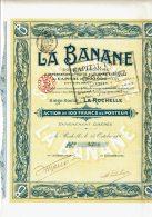 17-BANANE. LA ... LA ROCHELLE. 1908. Action. Cadre Décoré - Other