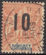 N° 39 - O - Dahomey (1899-1944)